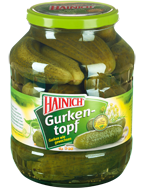 Barrel gherkins