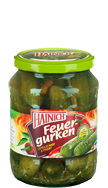 Hot & spicy gherkins